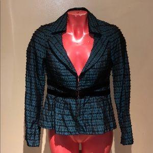 Nanette Lepore blazer jacket top shirt blouse